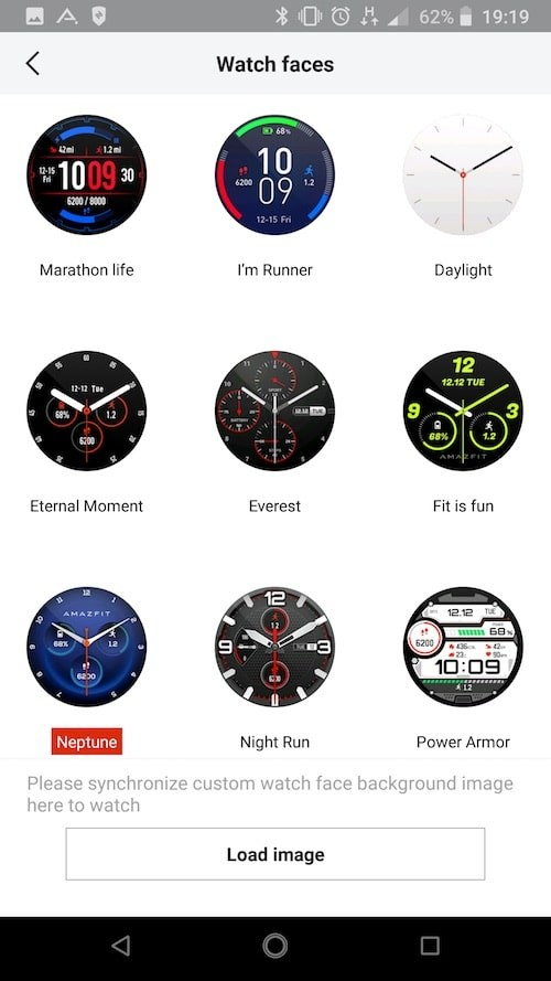 amazfit stratos watchface