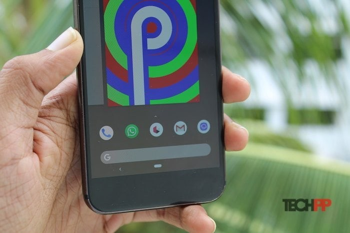 android pie home button