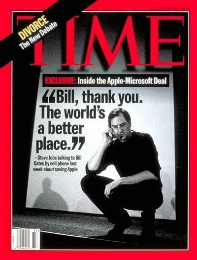 "[Believe Tech or Not] ""Bill, thank you..."": When Microsoft helped Apple"