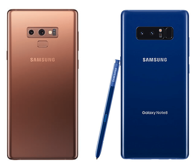 Samsung Galaxy Note 9 vs Galaxy Note 8: A Noteworthy Upgrade?