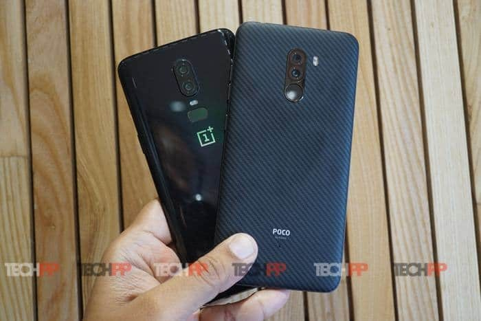 OnePlus 6 vs Poco F1: The Phone-y Fight of the Century