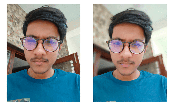 oppo find x selfie sample