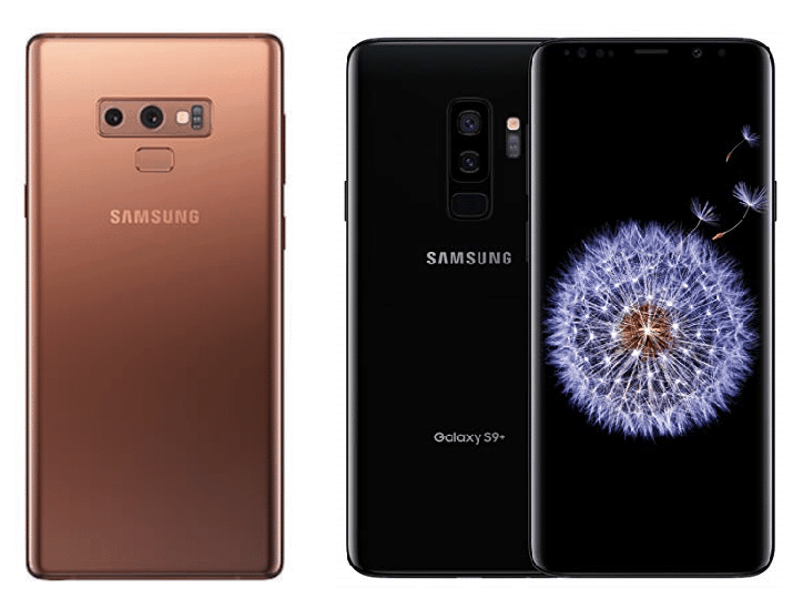 Samsung Galaxy Note 9 vs Galaxy S9+: What's Different?