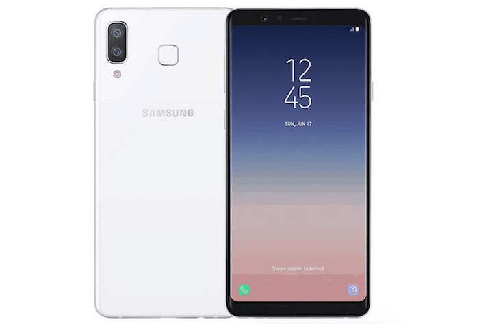 samsung galaxy a8 star white