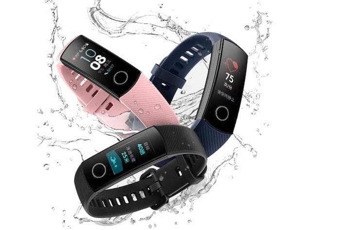 Honor Band 4 and Band 4 Running Edition Fitness Trackers Launched in China