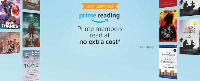 Amazon Prime Reading Launched in India; Gives Unlimited Reading at No Extra Cost