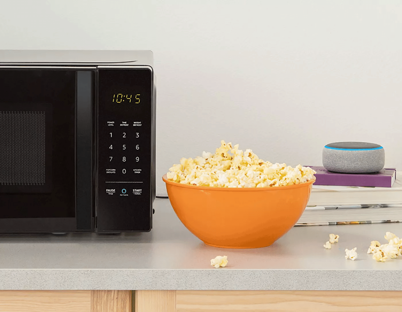 $60 AmazonBasics Microwave with Alexa Announced Alongside Smart Plug and Echo Wall Clock