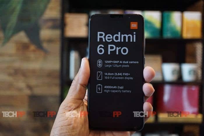 [First Cut] Redmi 6 Pro: Note (5)-like, with a Notch!