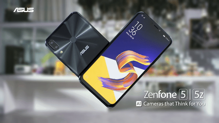 asus zenfone 5z marketing