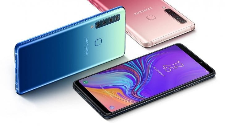 Samsung Galaxy A9 with Four Rear Cameras Arrives in India for Rs 36,990