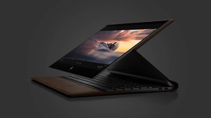 "HP Hopes to ""Reinvent the PC"" with its new Leather-Coated Spectre Folio"