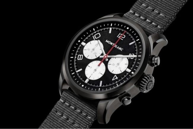 Montblanc's New Smartwatch with Qualcomm's Wear 3100 SoC will Run you Over $1,000