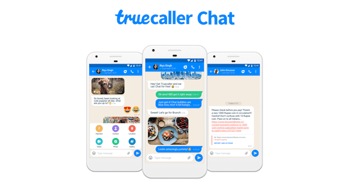 Truecaller Adds iMessage-Like Instant Messaging with a Focus on Combating Fake News