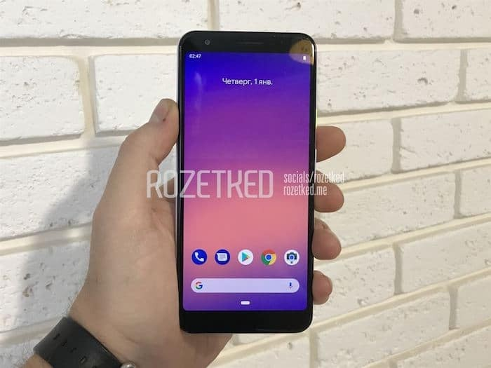 Pictures of Alleged Google Pixel 3 Lite with Snapdragon 670 Leaks