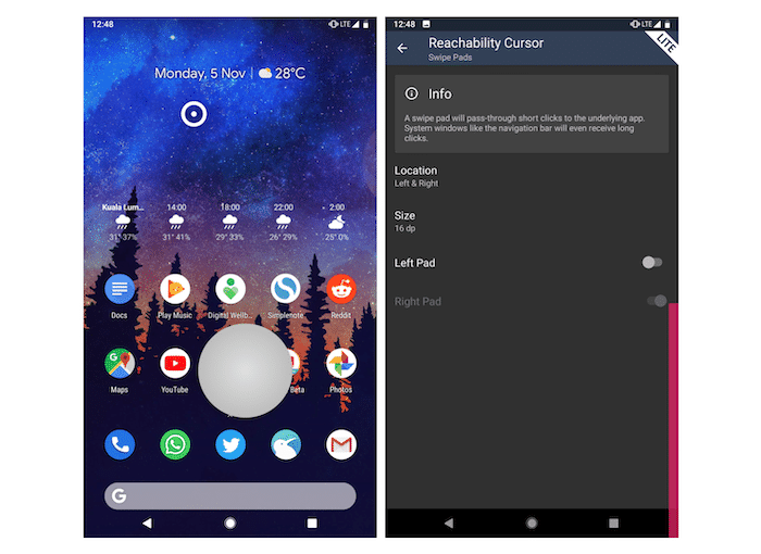 Reachability Cursor is the Most Ingenious Way of Navigating around on Big Phones