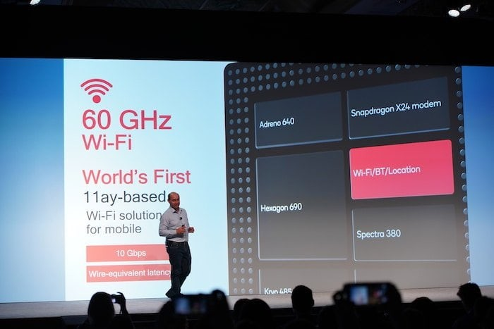 qualcomm snapdragon 855 60ghz wifi