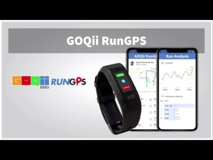 GOQii launches a GPS enabled smart band with Marathon coaching