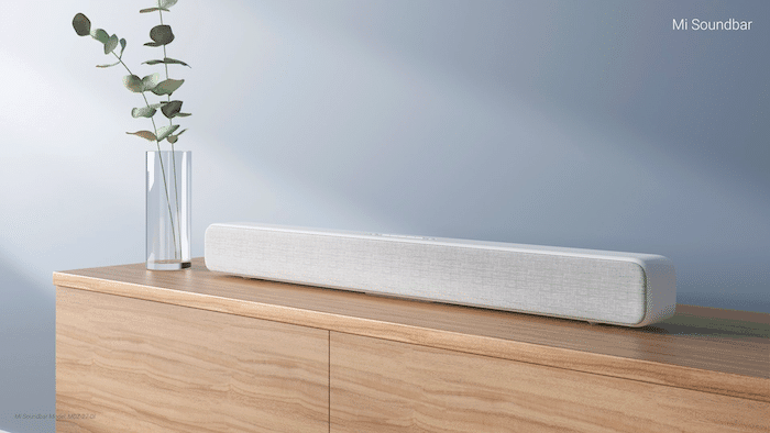 Mi Soundbar with 8 Sound Drivers Launched in India