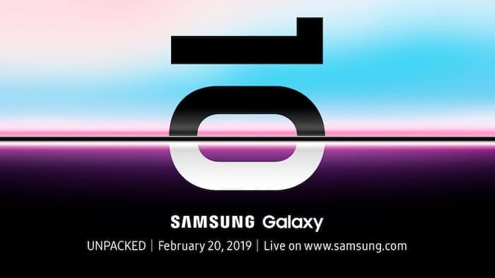 Samsung will Officially Announce the Galaxy S10 Series on February 20th