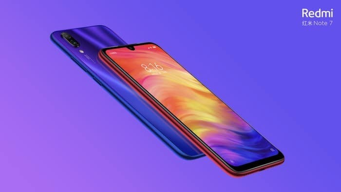 It's Official - Redmi Note 7 is coming to India
