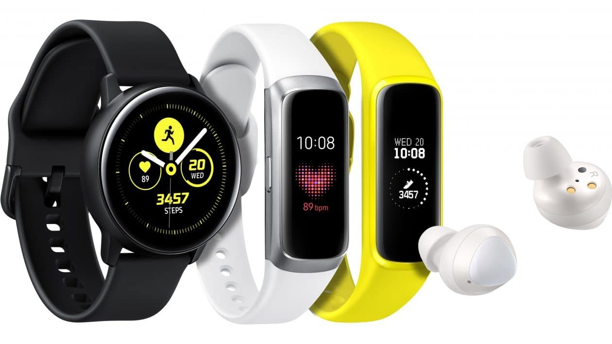 Samsung Expands its Smart Wearables Lineup with the Galaxy Watch Active, Galaxy Fit, and Galaxy Buds