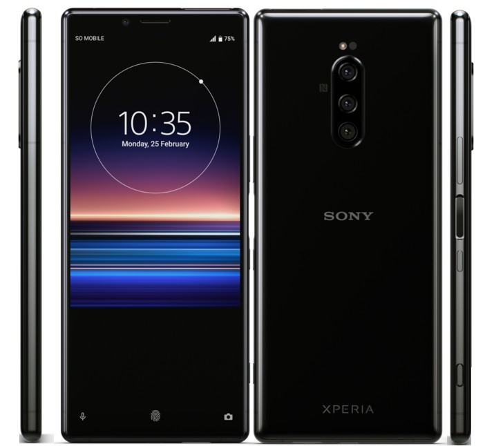Sony Xperia 1 with 21:9 CinemaWide 4K OLED  Display and Triple Rear Cameras announced