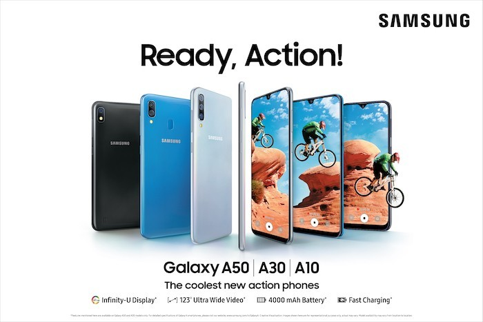 Samsung Galaxy A10, A30, and A50 Launched in India Starting at Rs 8,490