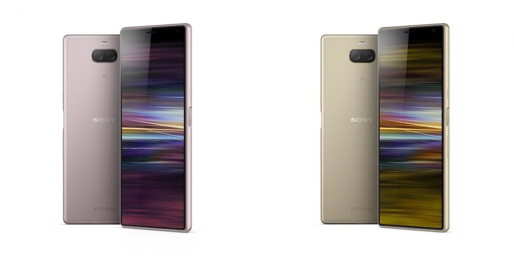 Sony Xperia 10 and Xperia 10 Plus with 21:9 Displays and Dual Cameras Launched
