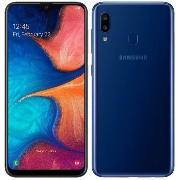 Samsung Galaxy A20 with 6.4-inch Infinity-V Display and Dual Rear Cameras Launched in India