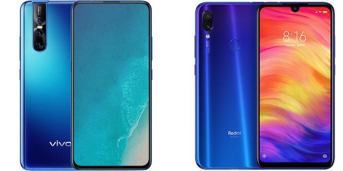 Vivo V15 Pro and Redmi Note 7 Pro: Twelve Differences Between the 48 MP Pro Bros!