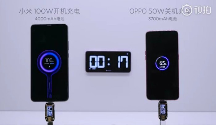 Insane! Xiaomi's 100W Super Charge Turbo technology fully charges a 4000mAh battery in 17 minutes