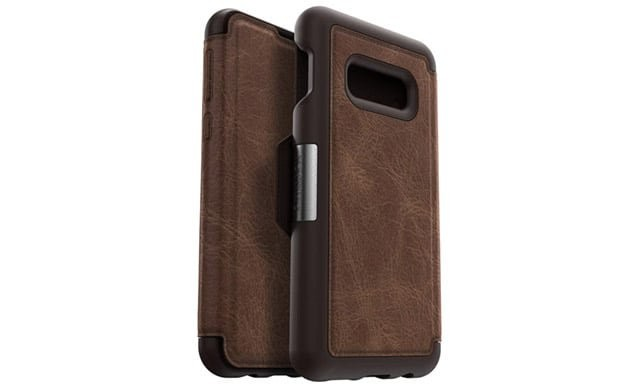 otterbox strada leather folio s10e case