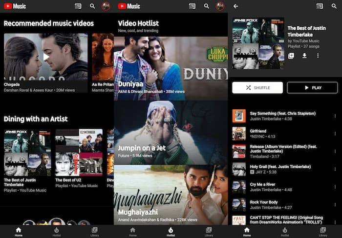 youtube music india