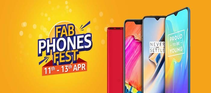 Amazon 'Fab Phones Fest' Sale is back with Deals on OnePlus 6T, iPhone X, Mi A2, and More