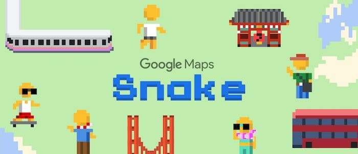 Google brings Snake to Google Maps as part of its April Fools' gag