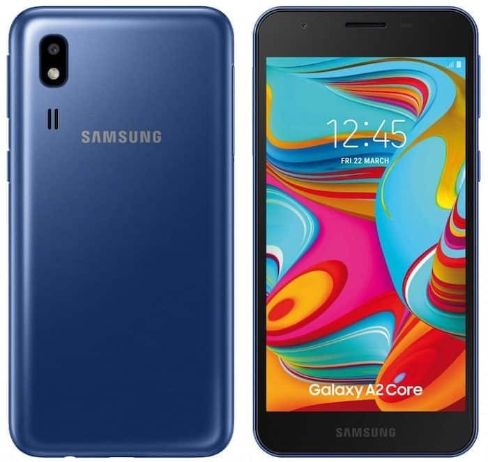 Samsung Galaxy A2 Core Android Go smartphone launched in India for Rs 5,290