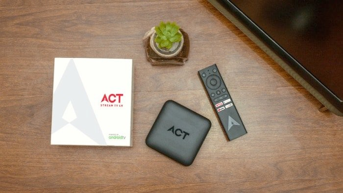 ACT Stream TV 4K Android TV Box Launched in India for Rs 4,499