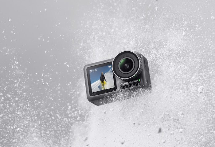 DJI Osmo Action Camera with 4K video capabilities and dual displays launched