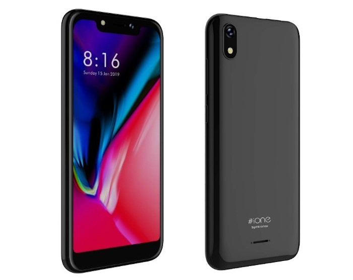 Micromax iOne with Notch Display and Android Pie Launched