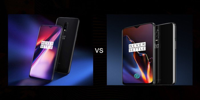 Comparison: OnePlus 7 vs OnePlus 6T
