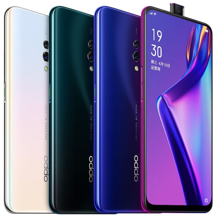 Oppo K3 with In-display Fingerprint Scanner and Pop-up Camera announced in China