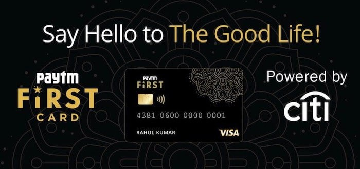 Paytm First Credit Card: 1% universal unlimited cash back, no fees, and more