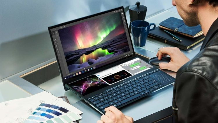 Asus ZenBook Pro Duo Adds a Secondary Display in Addition to the Keyboard
