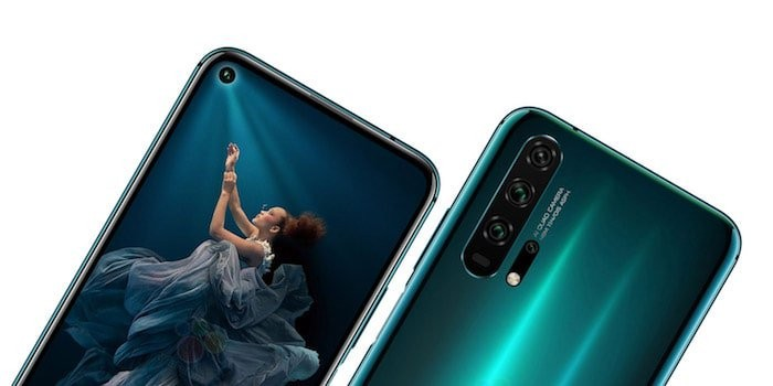 Honor 20 Pro with Quad Camera setup and Punch-hole Display Announced
