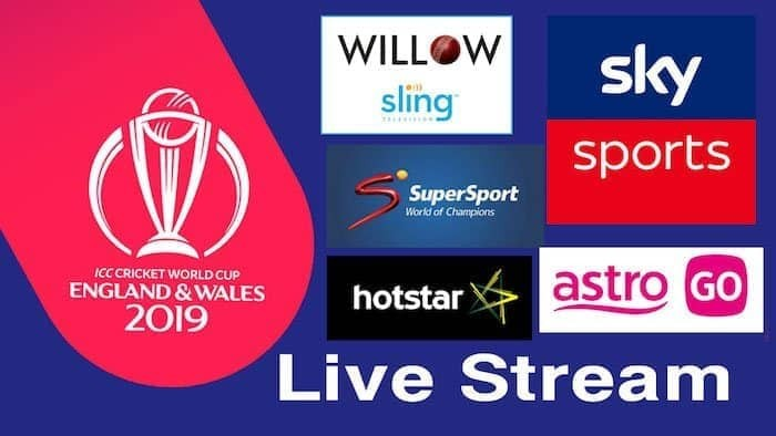 watch Cricket World Cup Live online