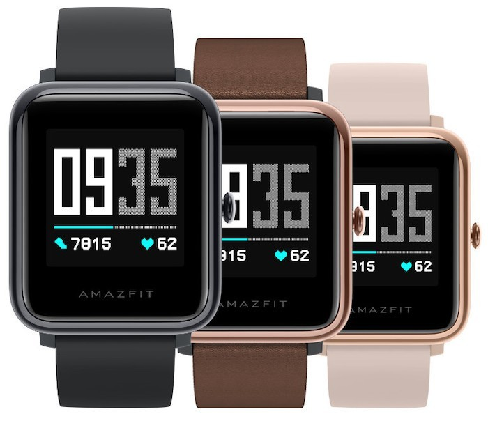 Amazfit Health Watch with color display, ECG, and heart rate monitoring announced