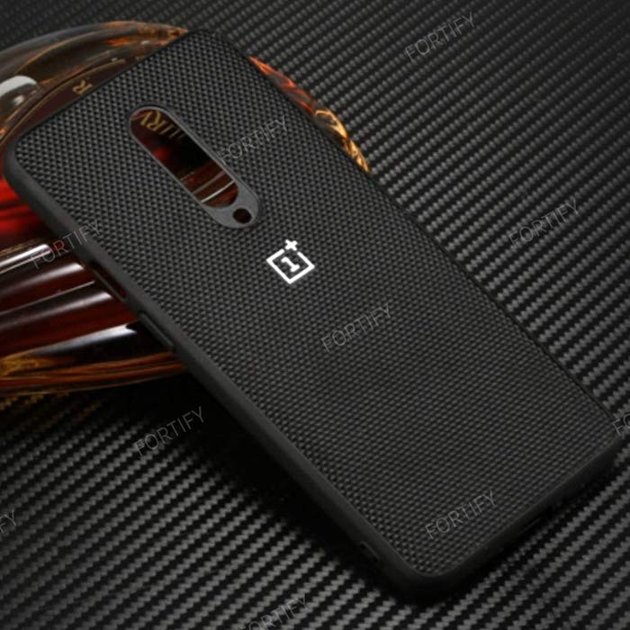 Fortify Soft Fabric Hybrid Protective Back Case Cover