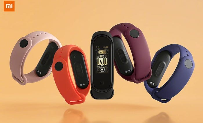 Xiaomi Mi Band 4 Launched in India for INR 2299