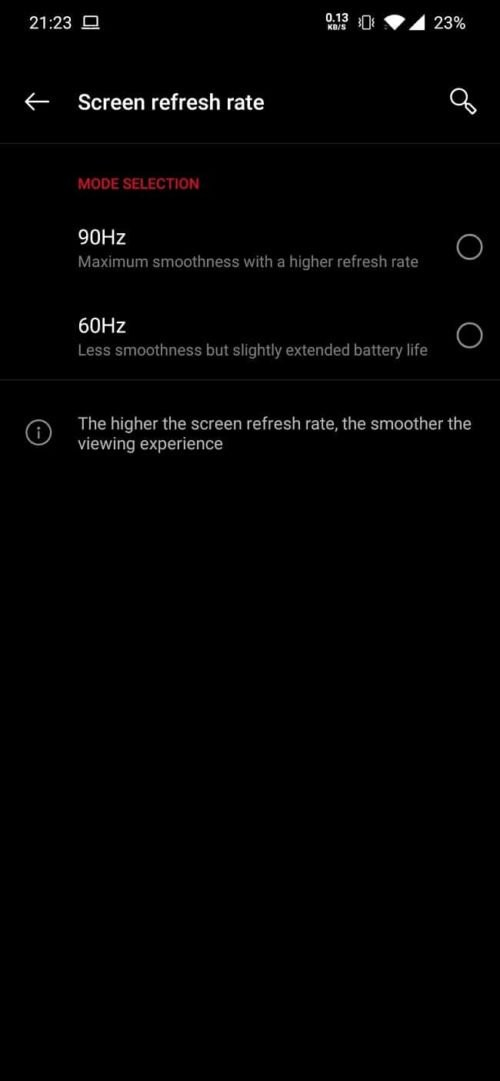 op7pro refresh rate e1560484084827