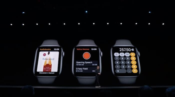 Apple announces watchOS 6 with dedicated App Store, new watchfaces, apps, and more
